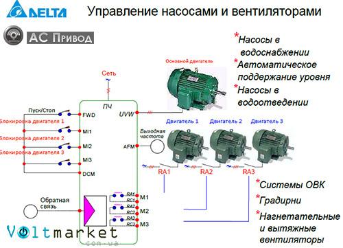 Схема преобразователя частоты