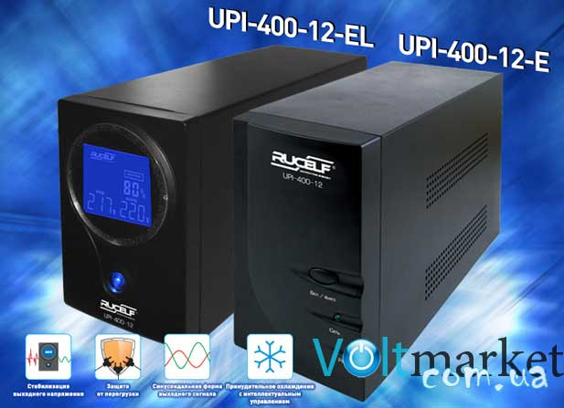 Источник бесперебойного питания RUCELF UPI-400-12