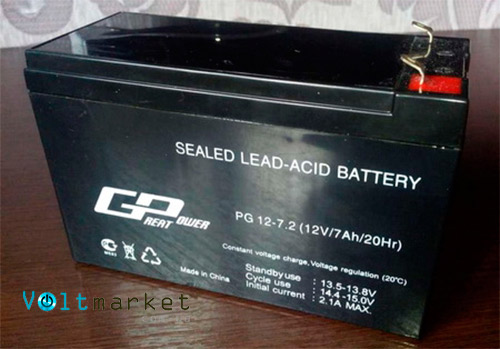 Аккумуляторная батарея GP