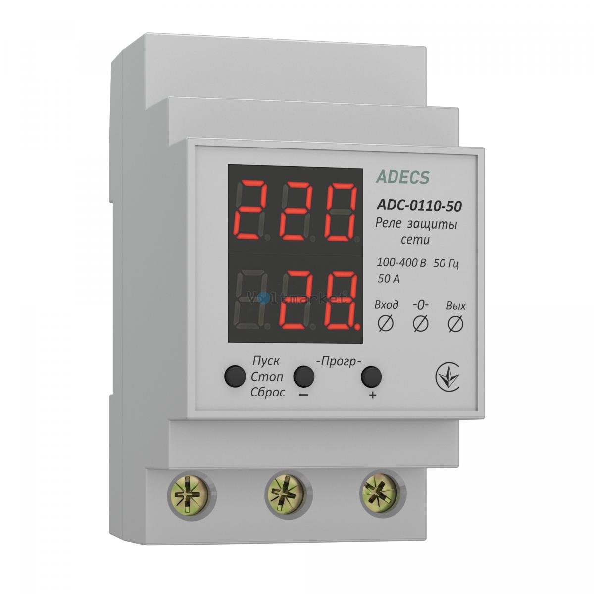 Устройство защиты сети однофазное ADECS ADC-0110-50