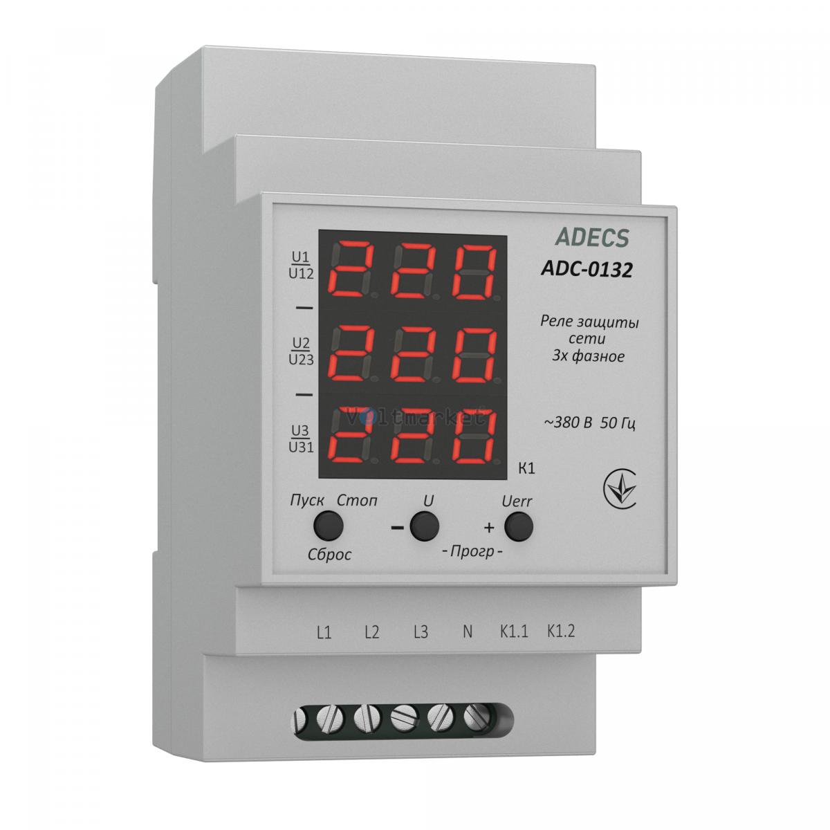 Устройство защиты сети трёхфазное ADECS ADC-0132
