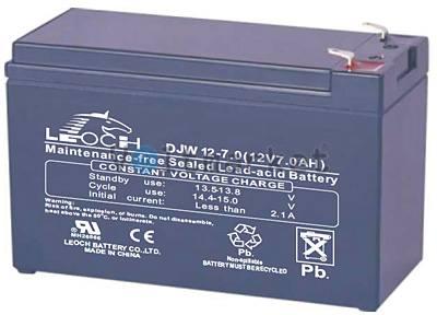 Аккумуляторная батарея герметичная LEOCH 12V 7AH