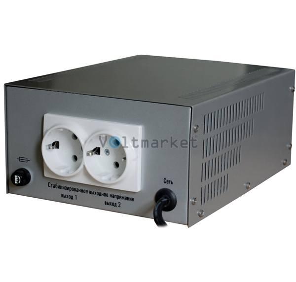Релейный стабилизатор напряжения СТРУМ СтР-1500Н