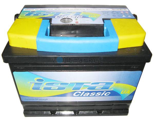 Аккумуляторная батарея ISTA Classic 6СТ-50 A1 550 02 02 L+