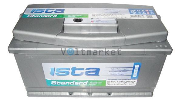 Аккумуляторная батарея ISTA Standard 6СТ-100 A1 600 04 02 L+