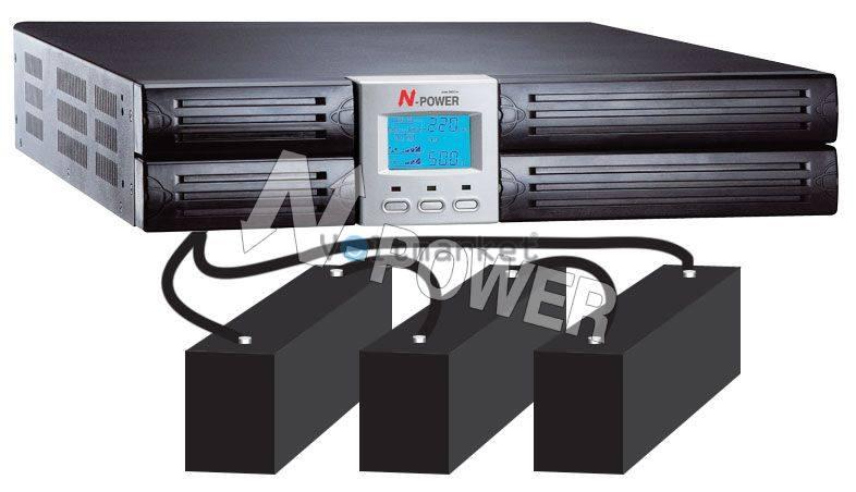 Источник бесперебойного питания N-Power MEV-6000 RM LT