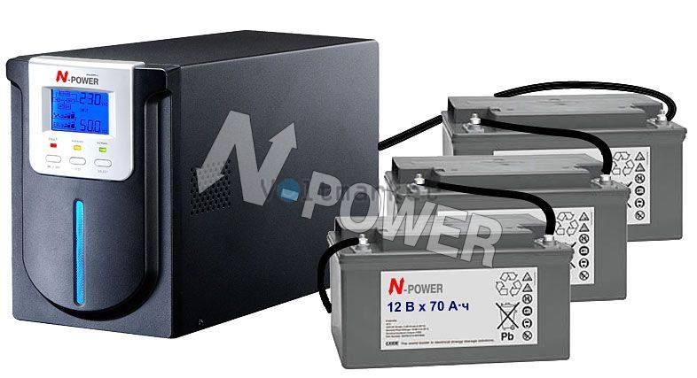 Источник бесперебойного питания N-Power MEV-3000 LT