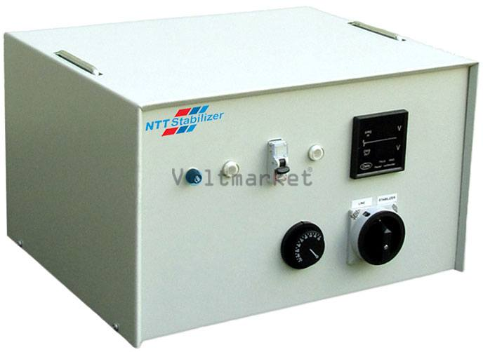 однофазный стабилизатор напряжения NTT Stabilizer DVS 1107