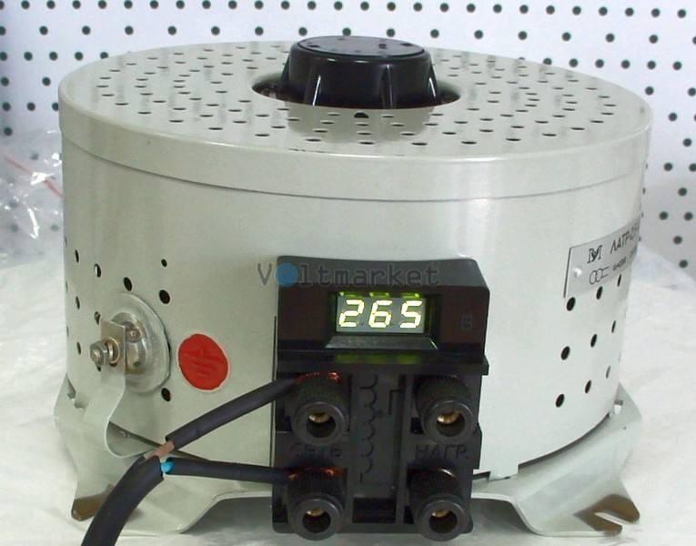 Лабораторный автотрансформатор однофазный Мегомметр ЛАТР-2.5-И