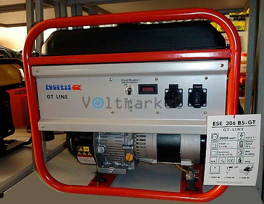 Бензиновая электростанция ENDRESS ESE 506 BS-GT