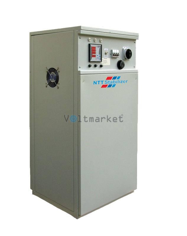 Трёхфазные сервоприводные стабилизаторы напряжения NTT Stabilizer DVS 33120