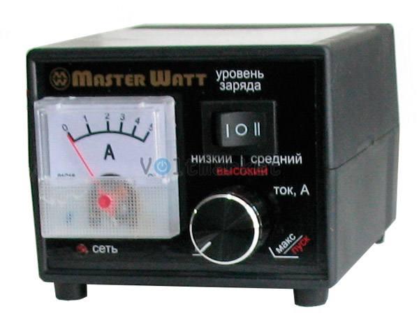 Зарядное устройство MASTER WATT ЗУ 5.5 12В