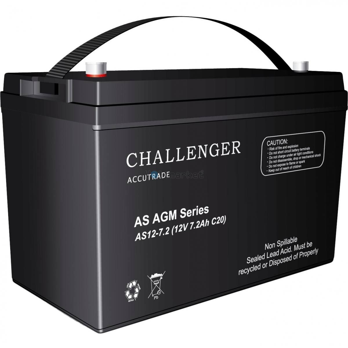 Аккумуляторная батарея Challenger AS12-7.2