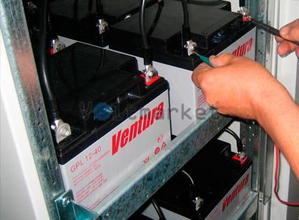Аккумуляторные батареи Ventura GPL 12-33