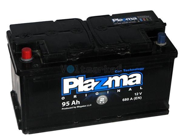 Аккумулятор стартерный Plazma Original 6СТ-95 595 62 02 L+