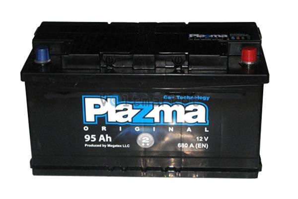 Аккумулятор стартерный Plazma Original 6СТ-95 595 62 04 R+