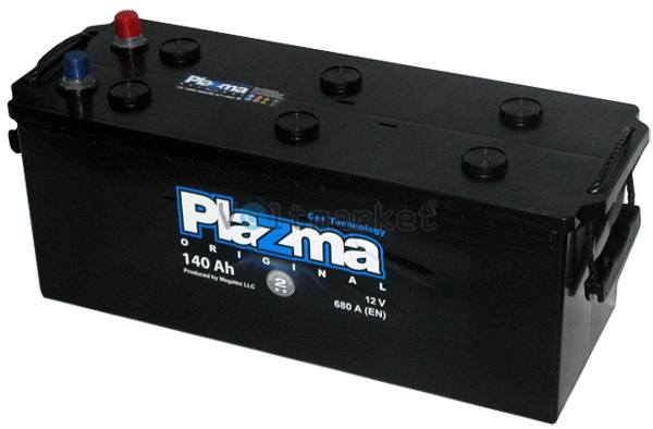 Аккумулятор стартерный Plazma Original 6СТ-140 640 62 02 L+