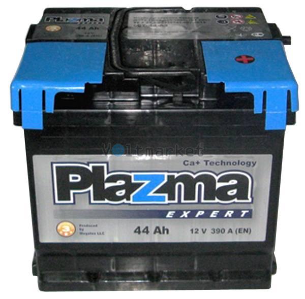 Аккумулятор стартерный Plazma EXPERT 6СТ-44 544 63 04 R+