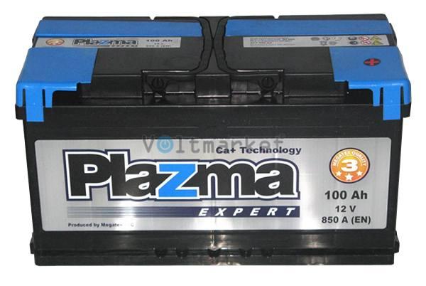 Аккумулятор стартерный Plazma EXPERT 6СТ-100 600 63 04 R+
