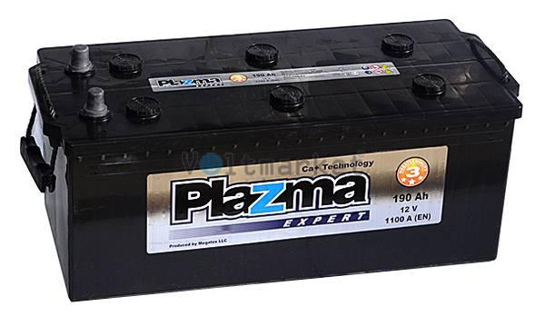Аккумулятор стартерный Plazma EXPERT 6СТ-190 У 690 63 22 L+