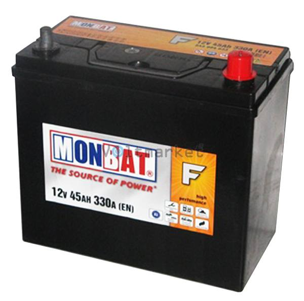 Аккумулятор стартерный MONBAT 6СТ-45 545 70 14 SMF R+