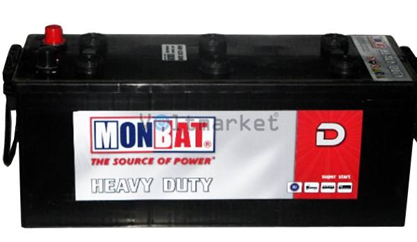 Аккумулятор стартерный MONBAT 6СТ-140 640 70 02 HD L+