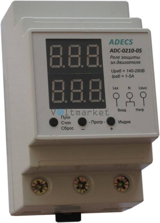Реле токовой защиты ADECS ADC-0210-05