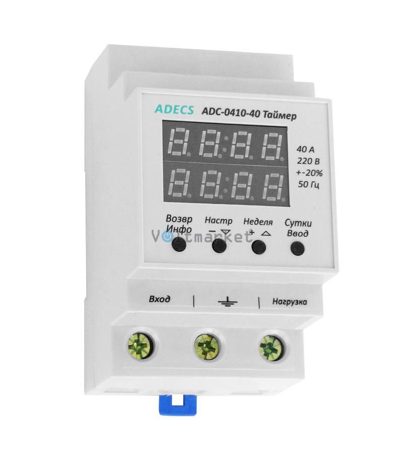 Реле времени ADECS ADC-0410-40