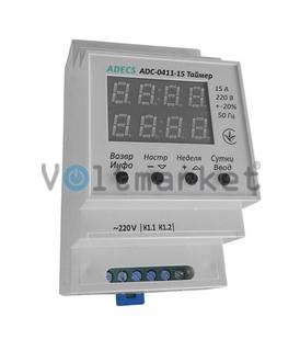 Реле времени ADECS ADC-0411-15