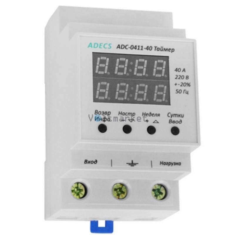 Реле времени ADECS ADC-0411-40