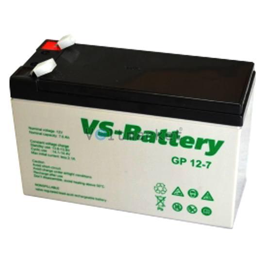 Аккумуляторные свинцово-кислотные батареи VS-Battery VS GP12-7,2