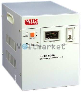 Стабилизатор напряжения однофазный ELIM СНАП-5000