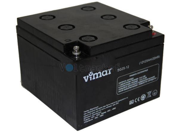 Аккумуляторная батарея VIMAR BG25-12