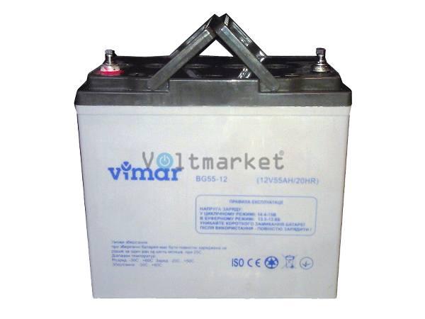 Аккумуляторная батарея VIMAR BG55-12