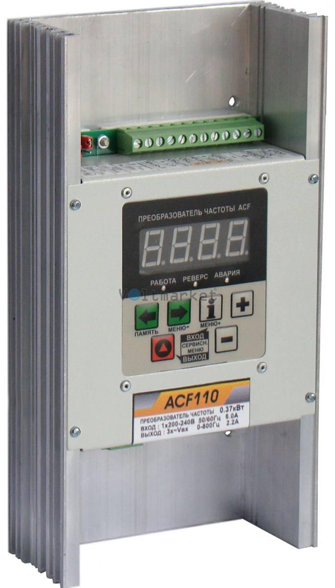 Преобразователь частоты АС Привод CFM110-0.37 kva