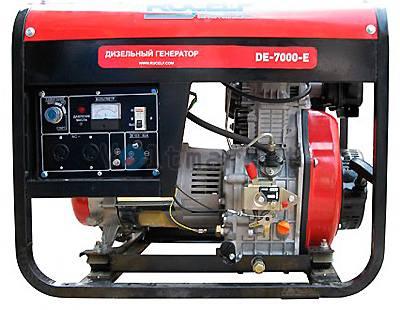 Дизельгенератор RUCELF DE-7000-E 5500W