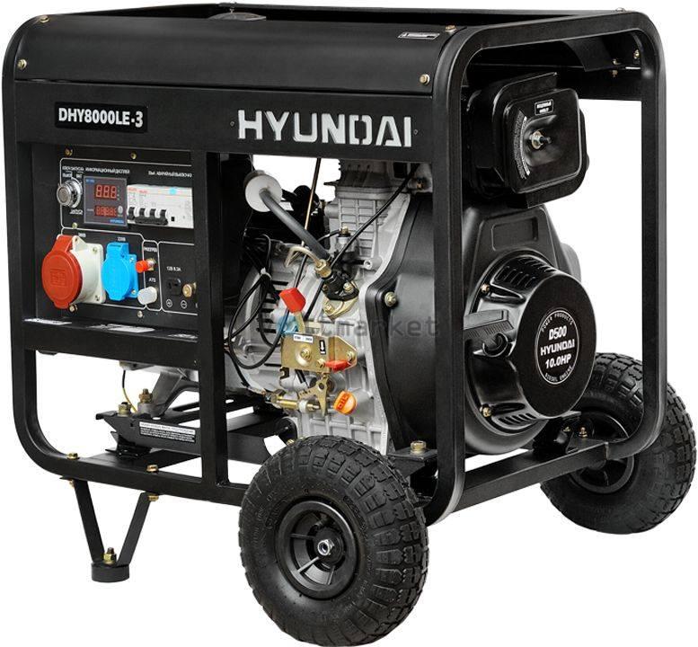 Дизельная электростанция Hyundai DHY8000LE-3