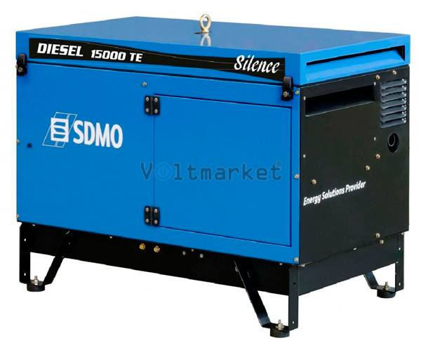 Дизельный генератор SDMO Diesel 15000 TE Silence