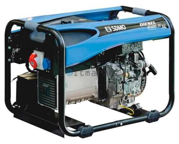 электростанция SDMO Diesel 6500 TE XL M