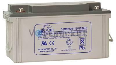 Аккумуляторная герметизированная свинцово-кислотная батарея LEOCH DJM 12120