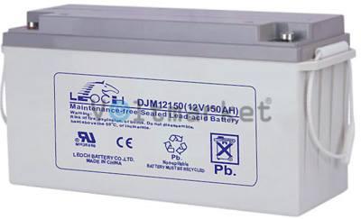 Аккумуляторная герметизированная свинцово-кислотная батарея LEOCH DJM 12150