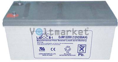 Аккумуляторная герметизированная свинцово-кислотная батарея LEOCH DJM 12200