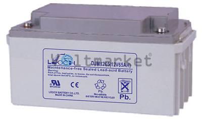 Аккумуляторная герметизированная свинцово-кислотная батарея LEOCH DJM 1265