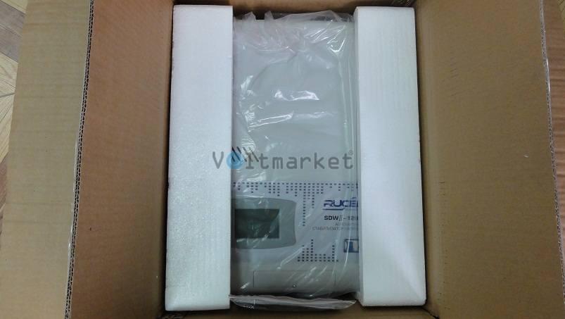 однофазный настенный стабилизатор напряжения RUCELF SDW II-10000-L