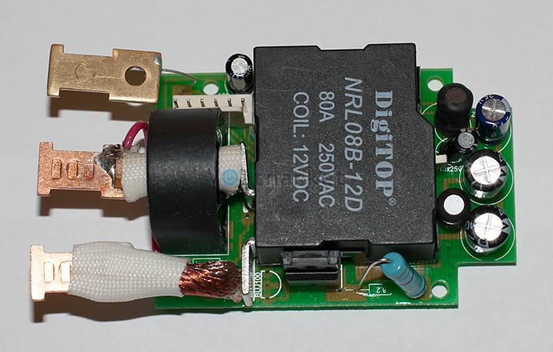 Реле напряжения с индикацией тока нагрузки DIGITOP VА-50