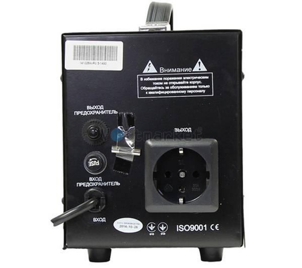 Релейный однофазный стабилизатор напряжения LUXEON E2000