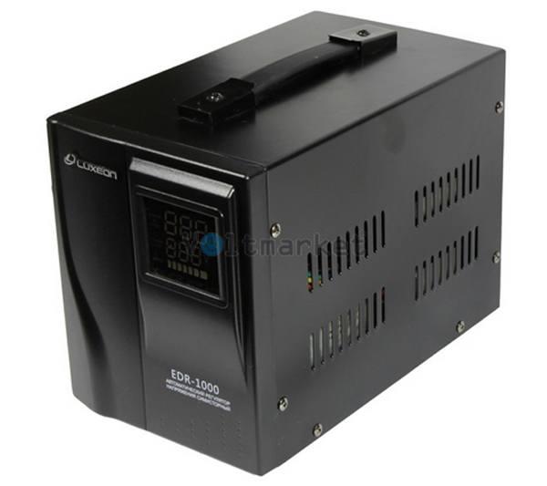 Электронный однофазный стабилизатор напряжения LUXEON EDR-1000