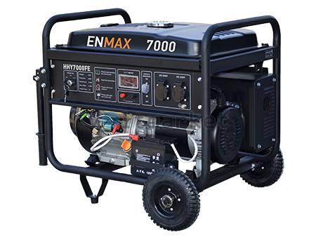 Бензогенератор ENMAX HHY7000FE