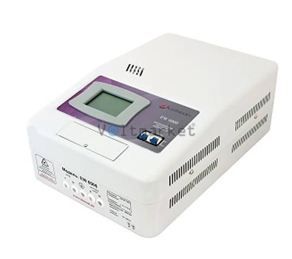 Сервоприводный однофазный стабилизатор напряжения Luxeon EWS-6000 SERVO