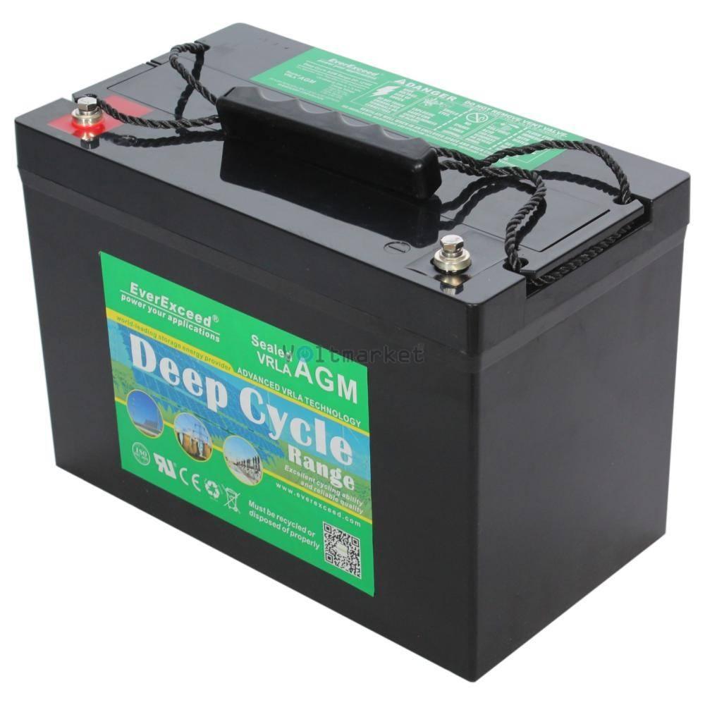 Аккумуляторная батарея EverExceed DP-12300 Deep Cycle Range